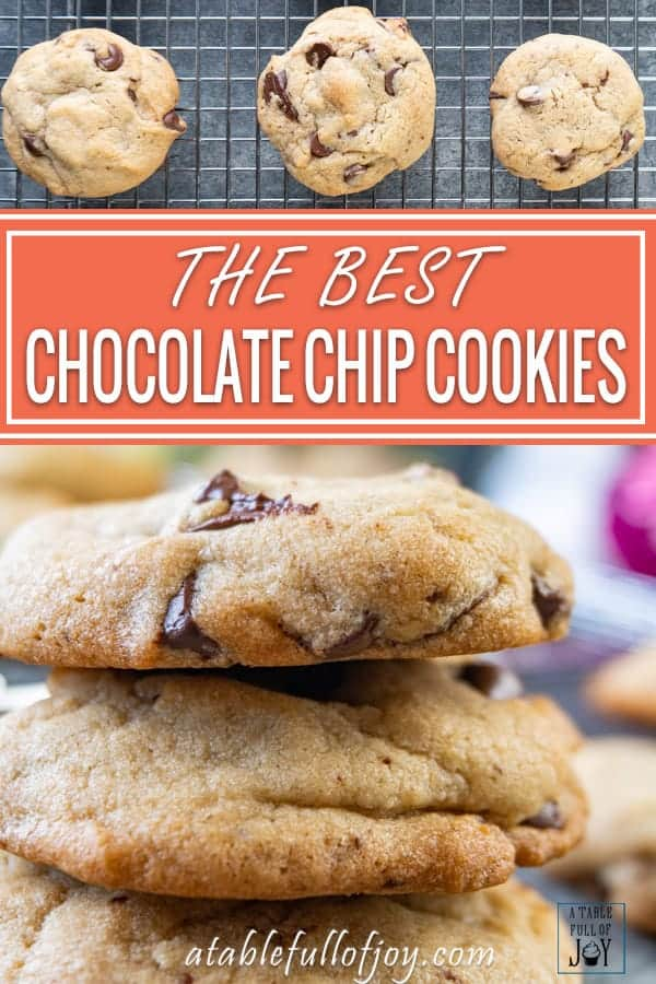 Chewy Chocolate Chip Cookie Pinterest Pin