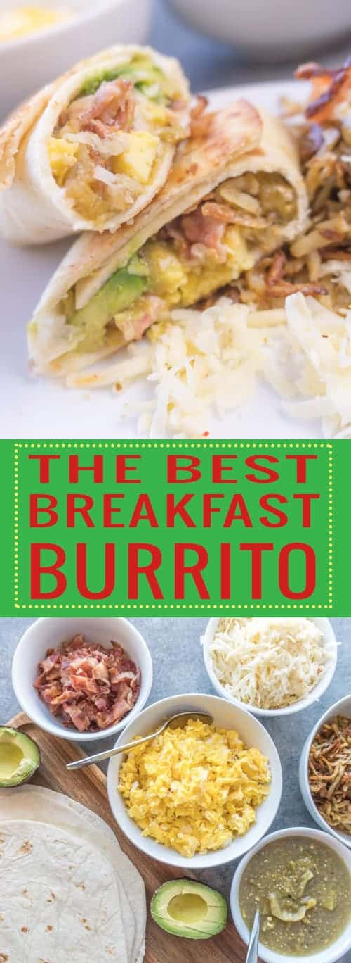 Delicious Breakfast Burrito