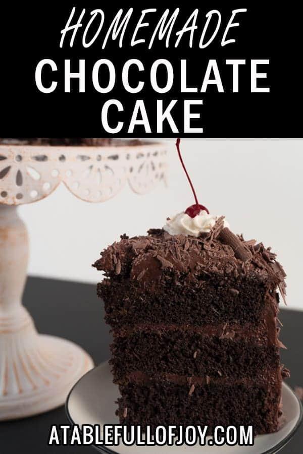 Homemade-Chocolate-Cake