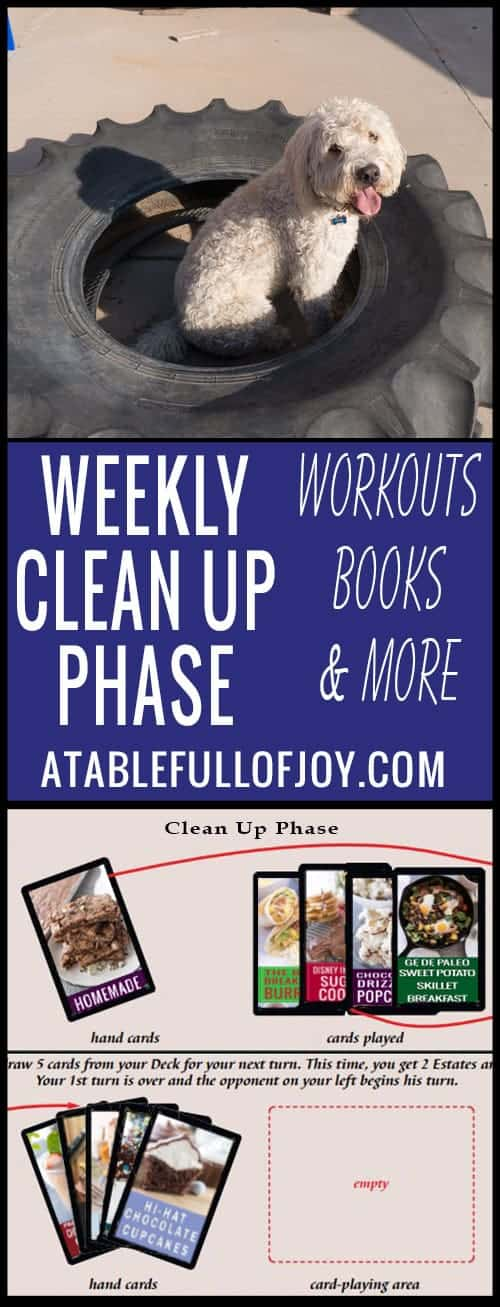 Weekly Workouts, favorite books and more!
