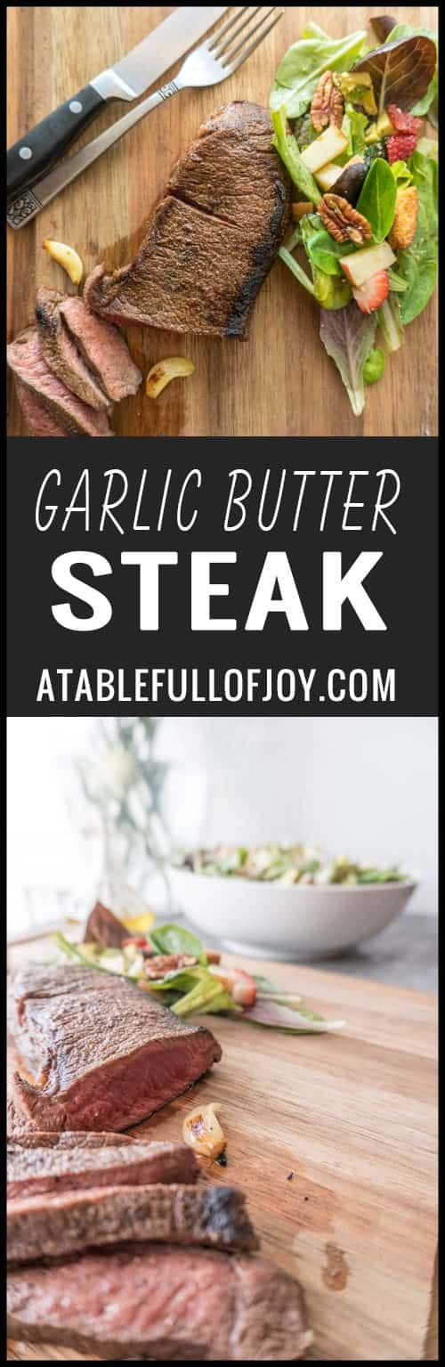 The Perfect Steak with Garlic