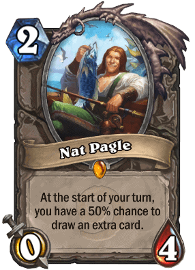 Hearthstone Card Nat Pagel