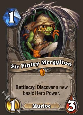 Hearthstone Sir Finley