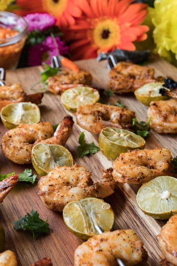 Shrimp Kabobs- Grill Shrimp
