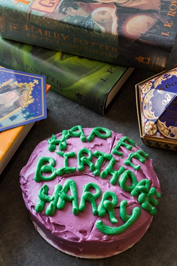 Peachy Harry Potter Cake A Table Full Of Joy Personalised Birthday Cards Paralily Jamesorg