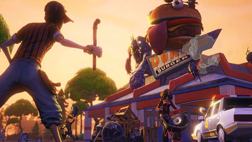 Durr Burger Fortnite