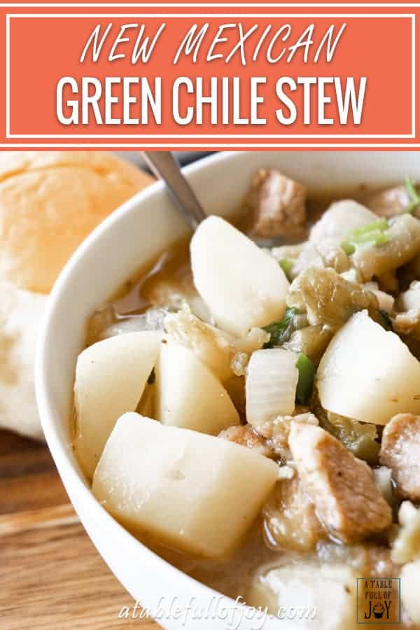 Green Chile Stew Pinterest Pin
