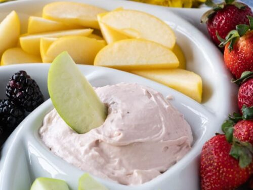 Strawberry Cream Cheese Fruit Dip