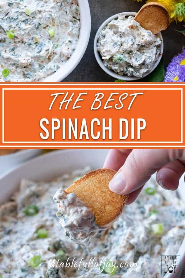 Spinach Dip PIN