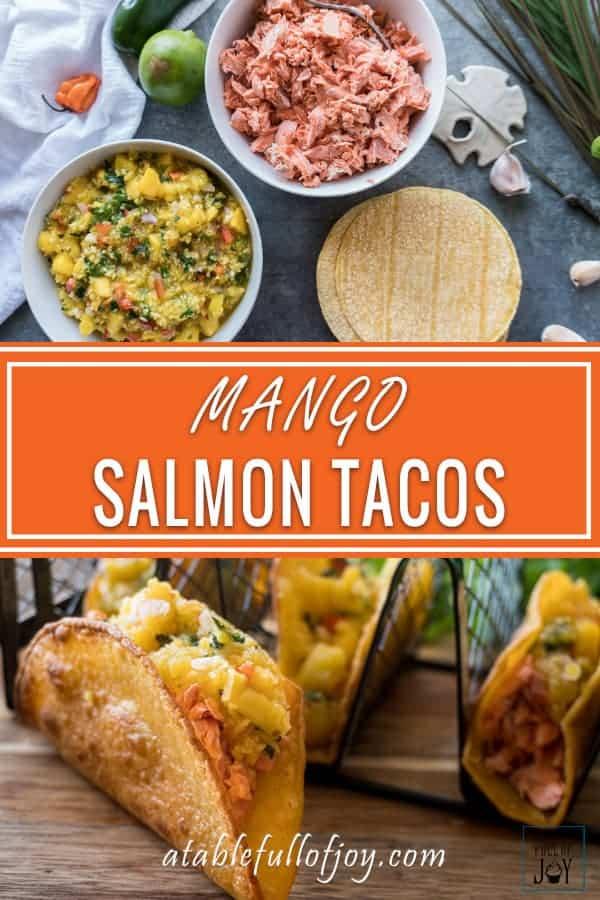 Salmon Mango Taco PIN
