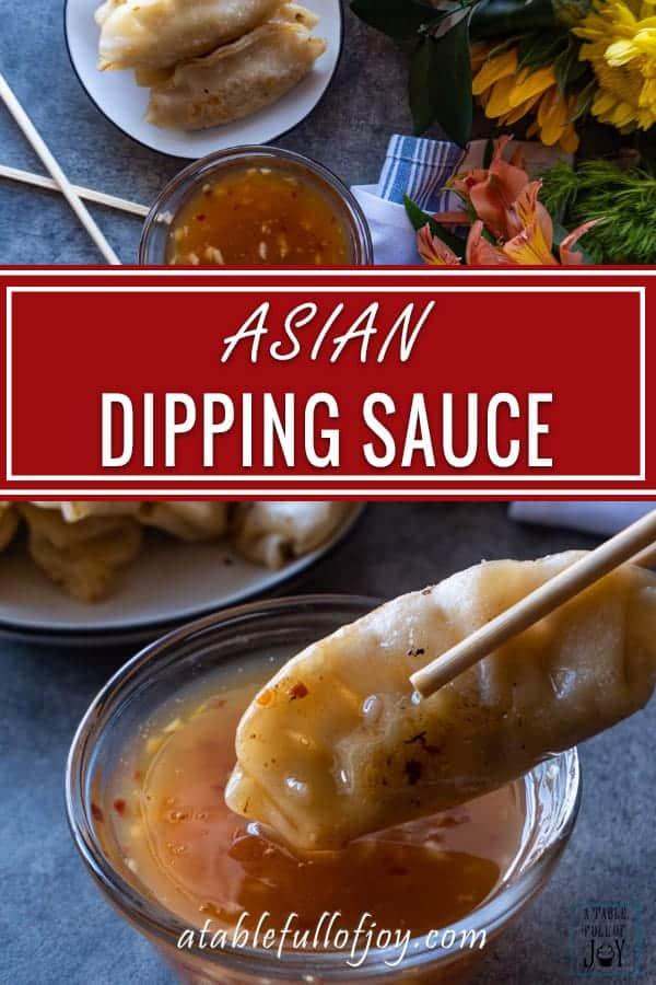 Asian Dipping Sauce PIN