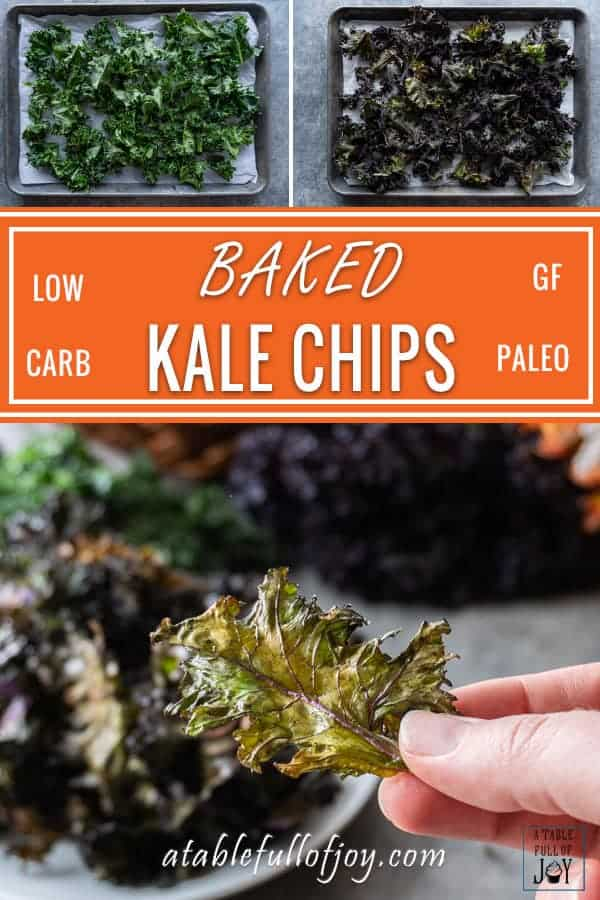 Baked Kale Chips PIN
