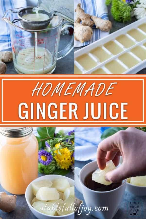 Ginger Juice Pinterest Pin