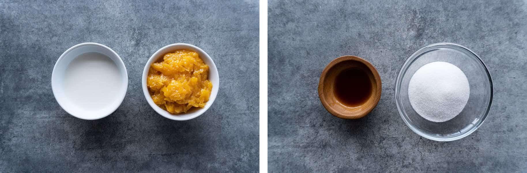 Orange Smoothie Ingredientrs