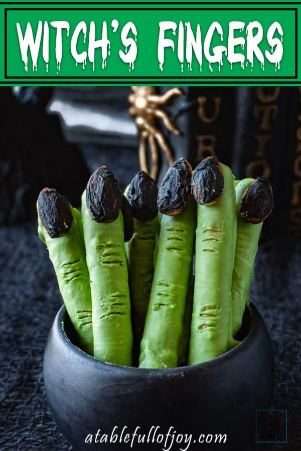 Witch'es Fingers Pinterest Pin
