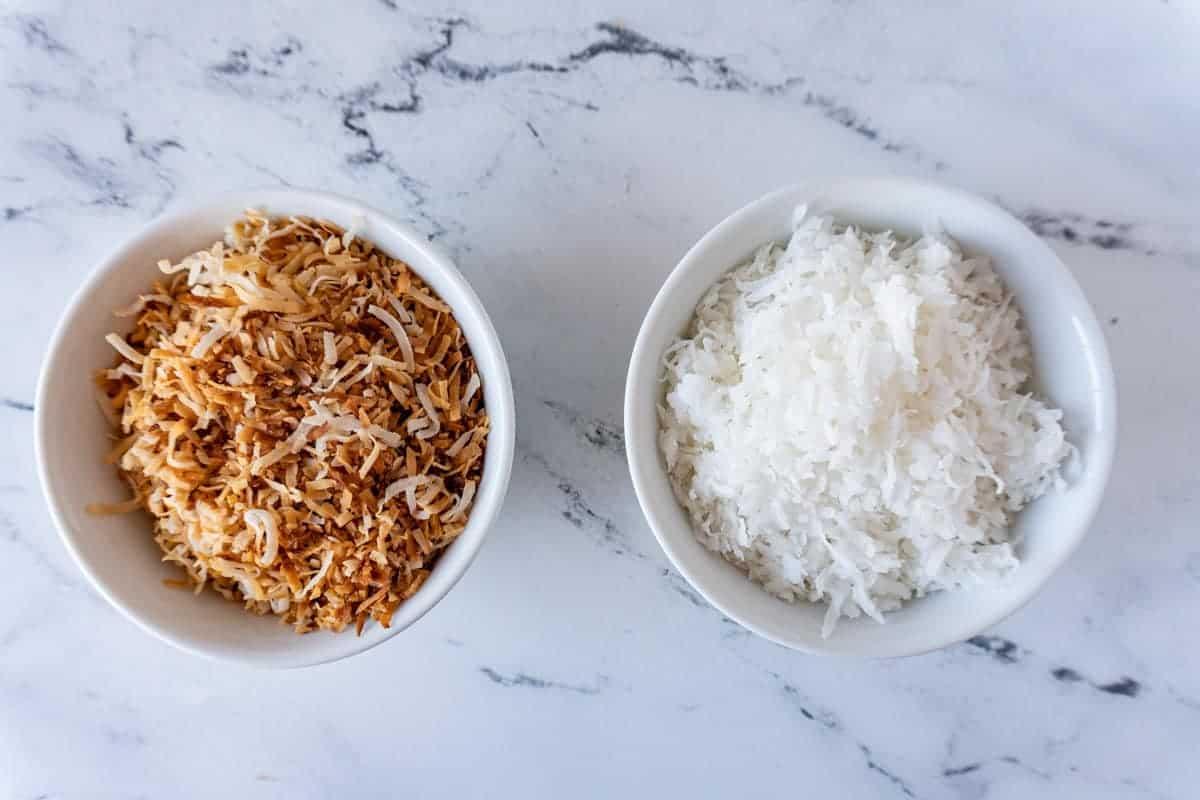 Toasted vs Untoasted Coconut